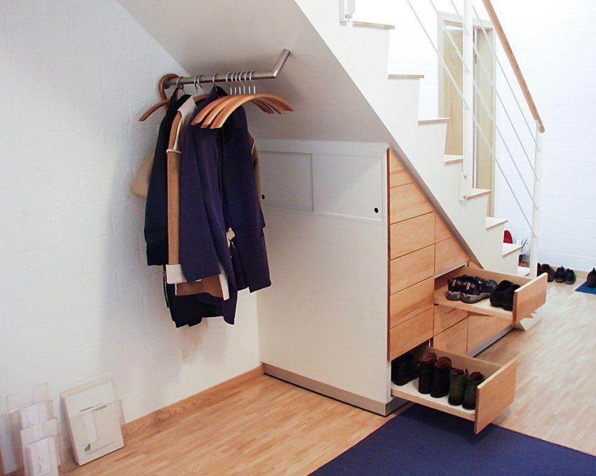 Schrank Aus Massivholz – Jonny B Möbelwerkstatt von Schuhschrank Unter Der Treppe Bild