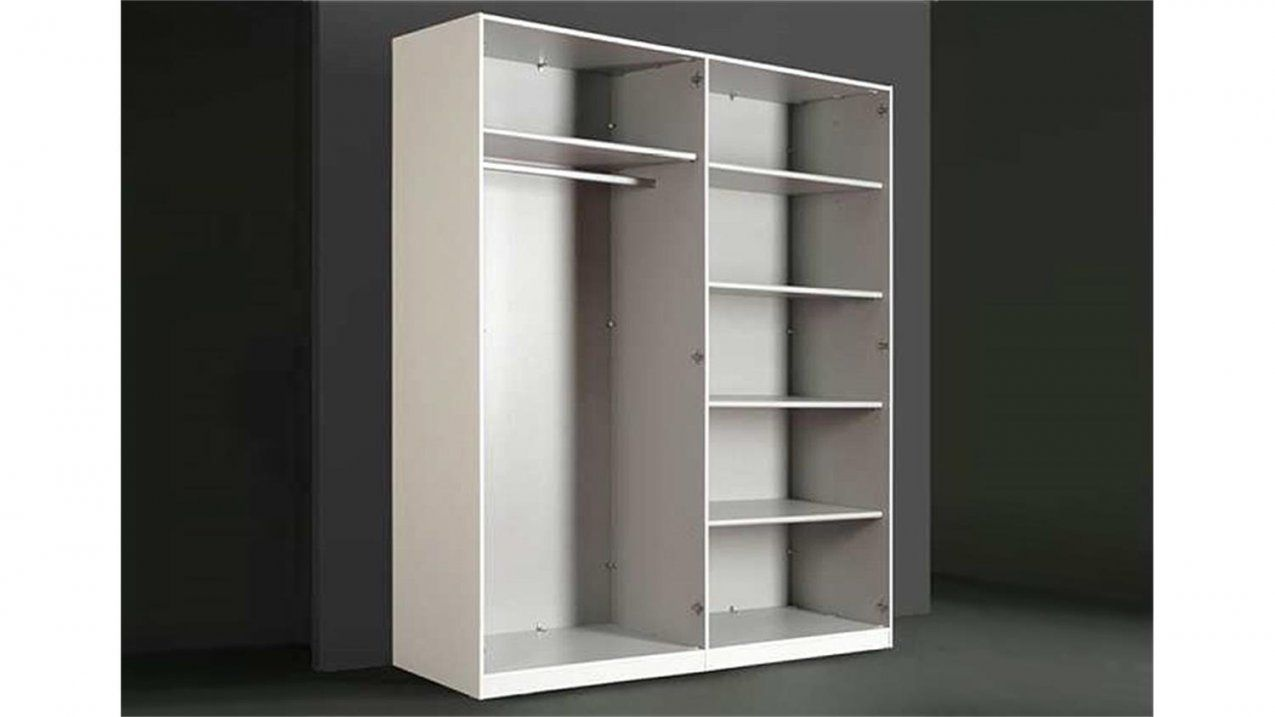 herrlich kleiderschrank weiss 120 cm breit schrank 180 hoch luxus von kleiderschrank 180 cm hoch. Black Bedroom Furniture Sets. Home Design Ideas