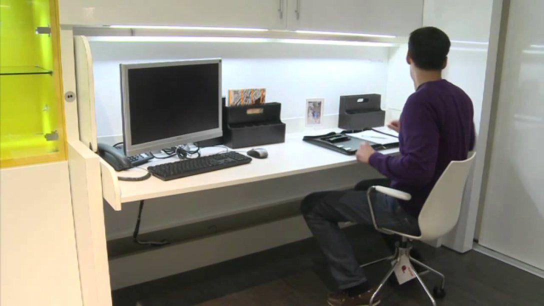 Schrank Mit Integriertem Schreibtisch Häfele Tavoletto In Sekunden von Bett Mit Schreibtisch Und Schrank Photo