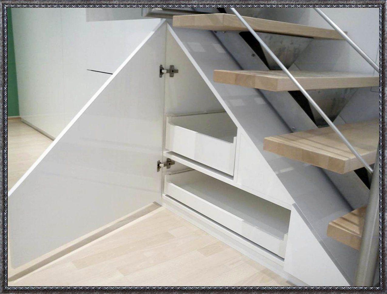 Schrank Unter Treppe Ikea  Die Schönsten Einrichtungsideen von Schrank Unter Offener Treppe Bild