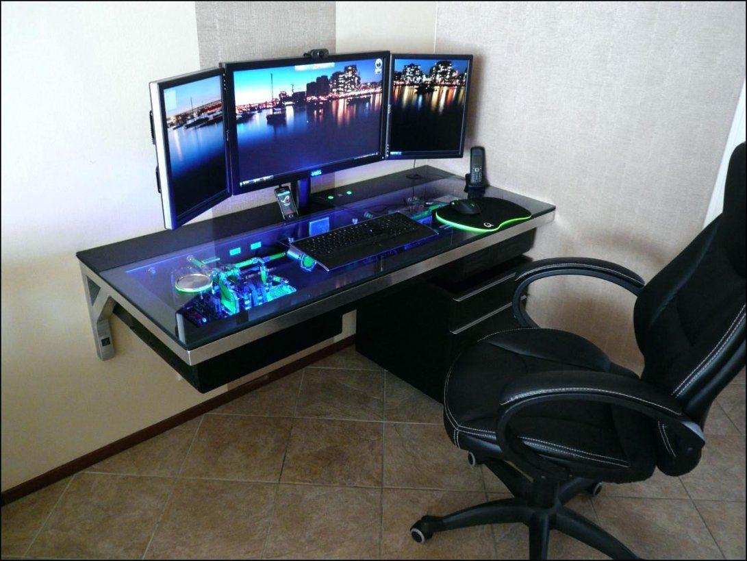 Schreibtisch Fur 2 Pc Selber Bauen Jenseits Des Glaubens Auf von Computer Schreibtisch Selber Bauen Photo