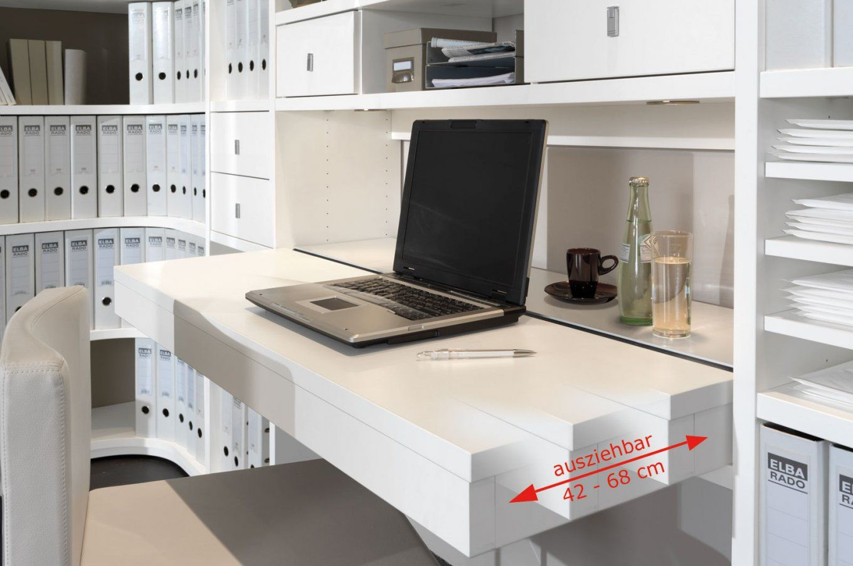 Schreibtisch Im Schlafzimmer Integrieren von Büro Im Wohnzimmer Integrieren Bild