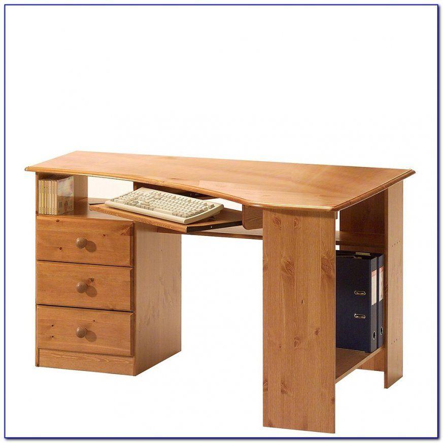 Schreibtisch Kiefer Gelaugt Geölt Massiv  Schreibtisch  Hause von Schreibtisch Kiefer Gelaugt Geölt Photo