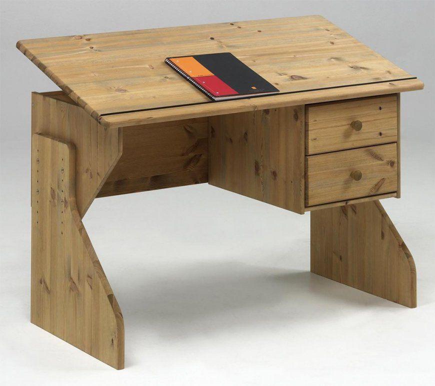 Schreibtisch Kiefer Gelaugt Geölt von Schreibtisch Kiefer Gelaugt Geölt Bild