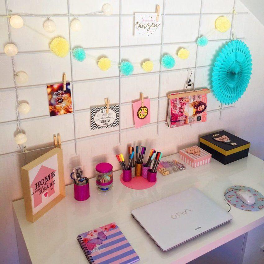 Schreibtisch Und Arbeitszimmer Einrichten  Deko Ideen Fürs Büro von Schreibtisch Deko Selber Machen Photo