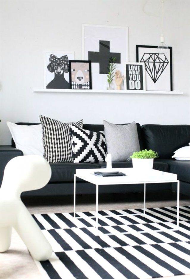 Schwarz Weiß Bilder Wohnzimmer Erstaunlich Auf Dekoideen Fur Ihr von Deko Ideen Schwarz Weiß Bild