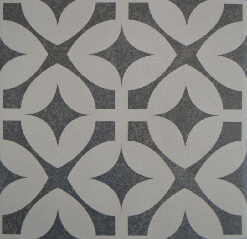 Schwarz Weiß Muster Luxus Haus Möbel Fliesen Mit Muster Bodenfliesen von Fliesen Schwarz Weiß Muster Bild