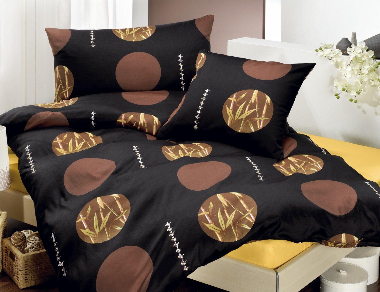 Schwarze Bettwäsche Mit Bambusdesign ⋆ Lehner Versand von Bettwäsche Japanische Motive Photo