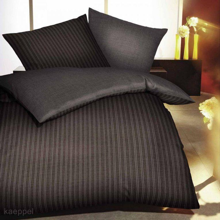 Schwarze Satin Bettwäsche  Bsgmedia von Bettwäsche Bei Hse24 Bild