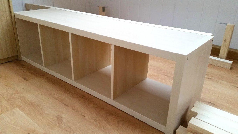 Sehr Gehend Od Inspiration Kallax Bett Anleitung Und Erstaunliche von Bett Aus Ikea Regal Bauen Photo