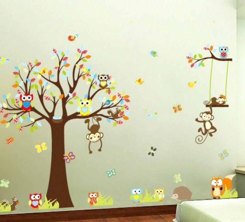 Sehr Gute Ideen Wandtattoo Baum Kinderzimmer Und Fantastische von Wandtattoo Baum Kinderzimmer Xxl Photo