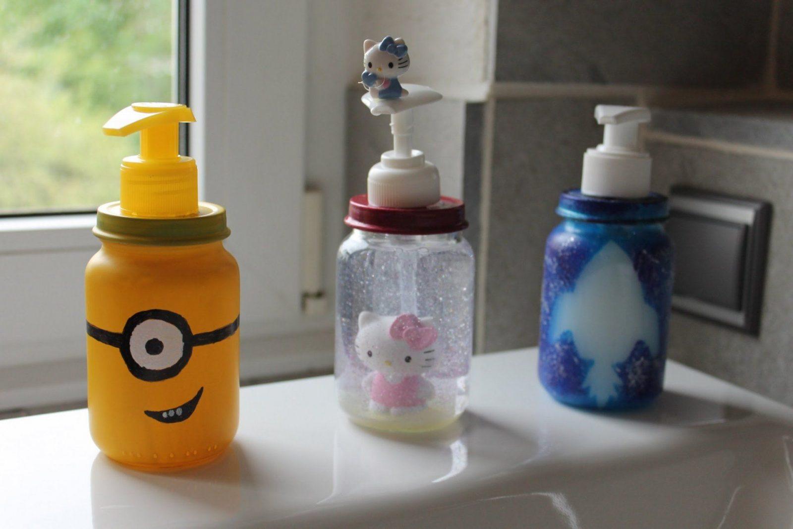 Seifenspender Aus Babygläschen  3 Coole Ideen  Upcycling Baby Food von Upcycling Ideen Zum Selbermachen Bild