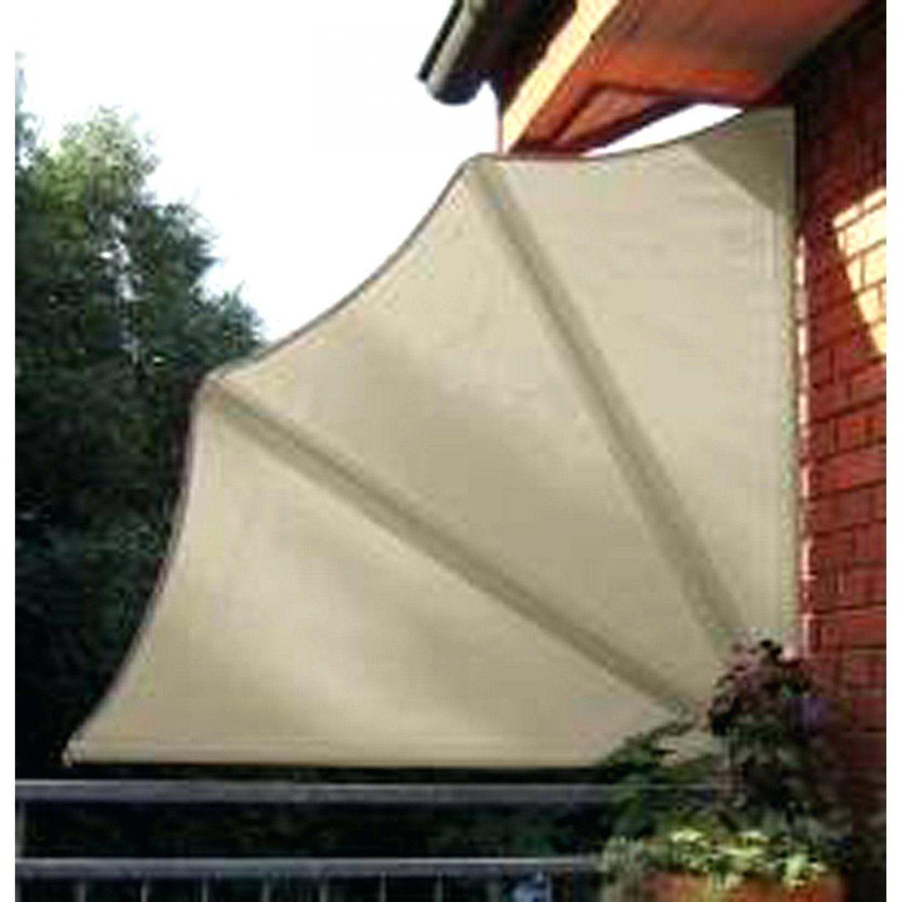 Seiten Sichtschutz Balkon Fur Balkongelander Obi Seitensichtschutz von Balkon Sichtschutz Fächer Ohne Bohren Bild