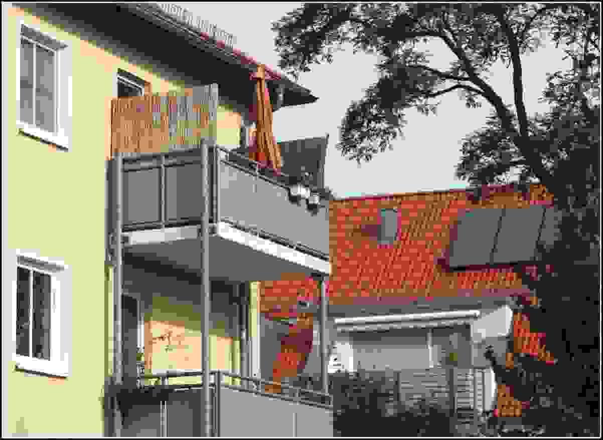 sichtschutz balkon ohne bohren haus design ideen. Black Bedroom Furniture Sets. Home Design Ideas