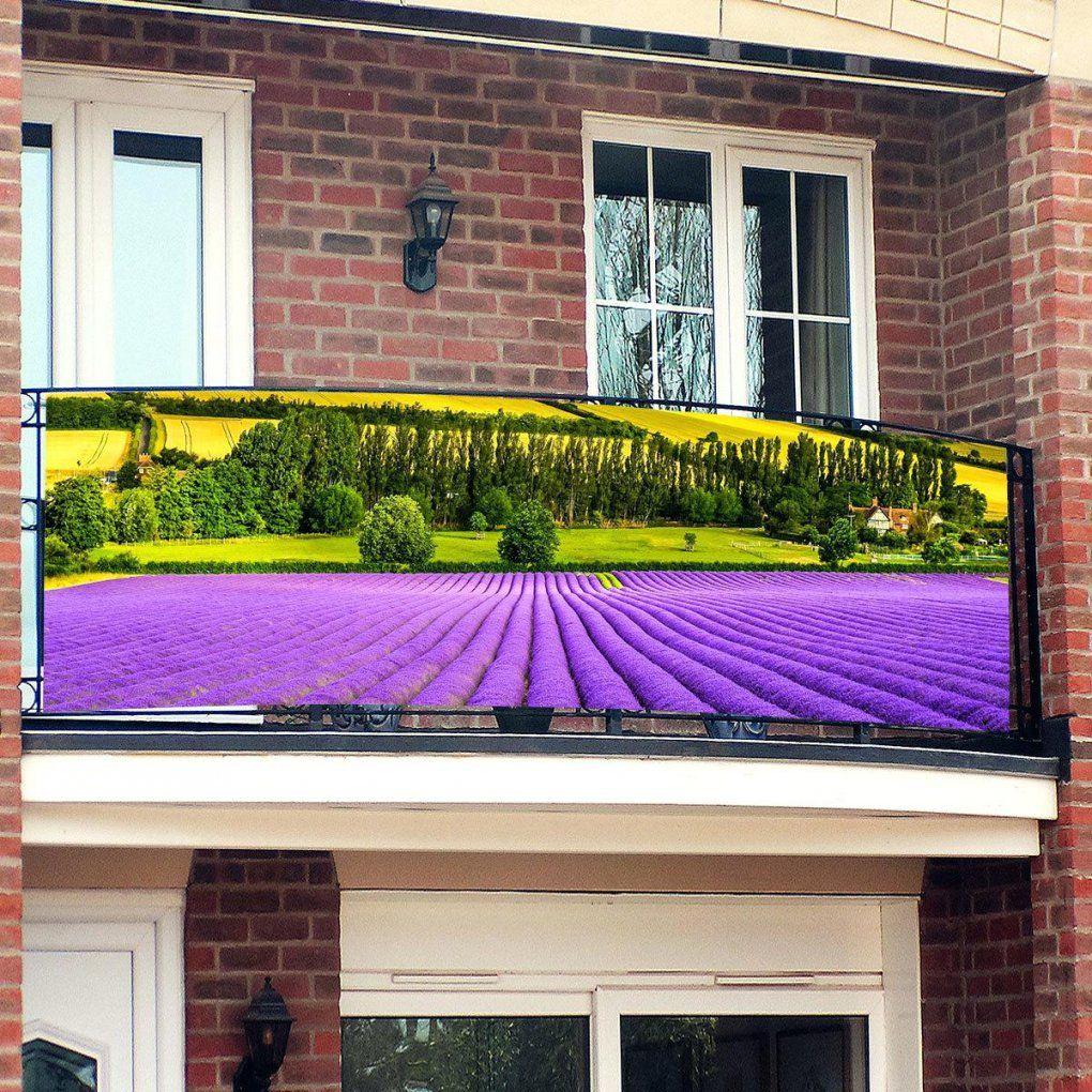 Seiten Sichtschutz Balkon Provence Seitlich Ohne Bohren Fur von Sichtschutz Balkon Seitlich Ohne Bohren Bild