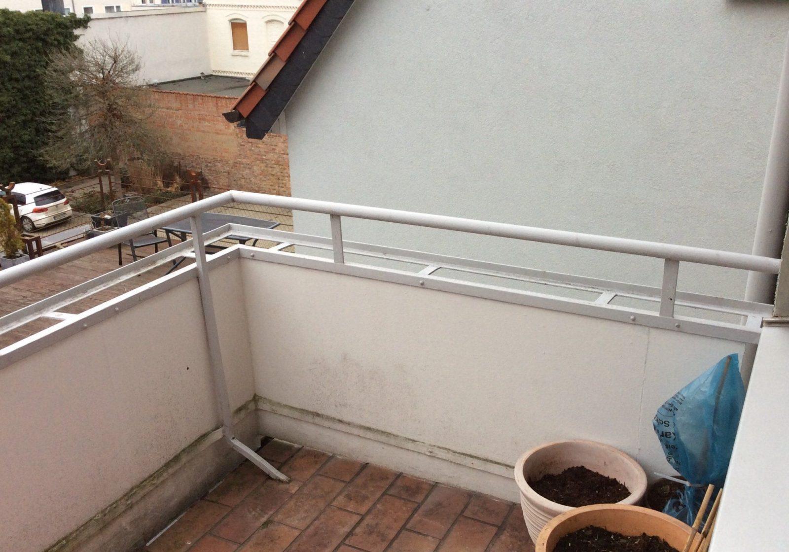 Seitlicher Sichtschutz Am Balkon  Selbst Diy Forum von Balkon Sichtschutz Ohne Bohren Photo