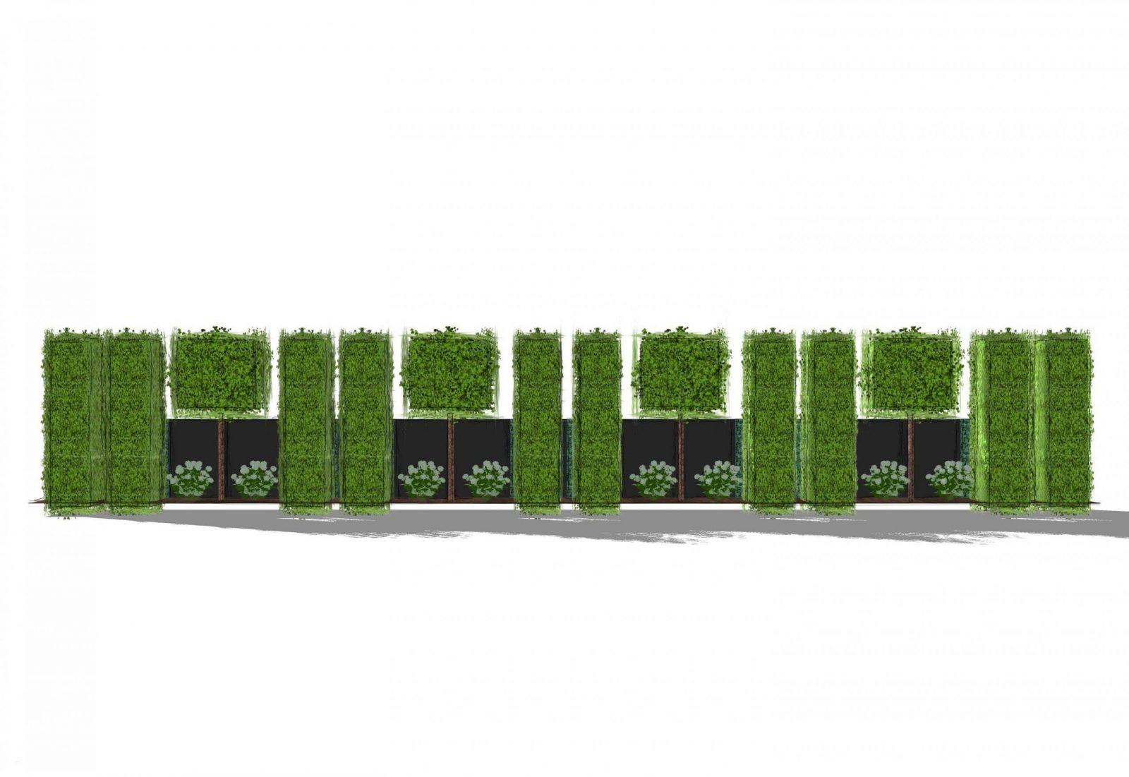Selber Garten Gestalten Neu Sichtschutz Hpl Hecke Am Laufenden Meter von Hecke Am Laufenden Meter Selber Machen Photo