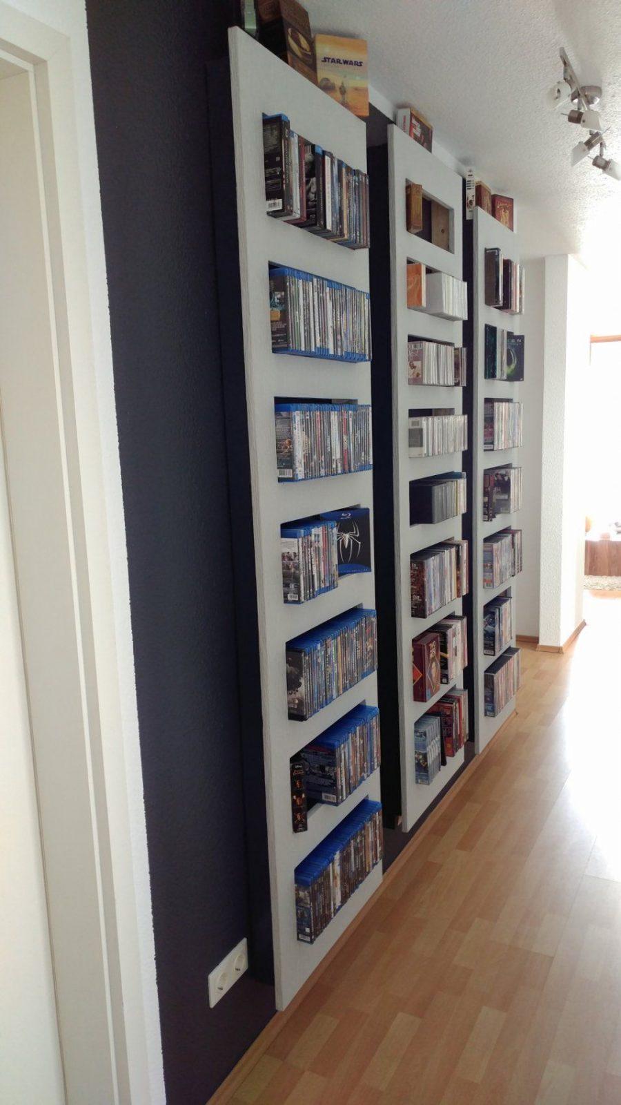 Selbstbau Eines Regals Für Blurays Oder Dvds  Technikaffe von Blu Ray Regal Selber Bauen Photo