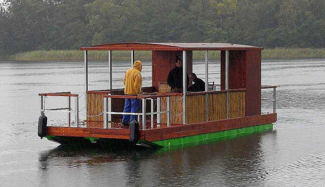 Selbstbau & Komponenten  Tom Sawyer Boats  Flösse Und Hausboote Bauen von Ponton Hausboot Selber Bauen Photo