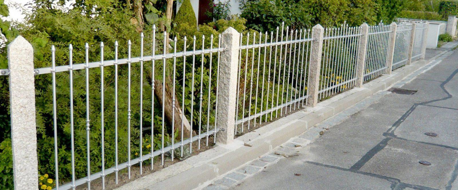 Selbstbauzäune  Zaun Selber Bauen  Seiler Zaun Design von Schmiedeeisen Zaun Selber Bauen Photo