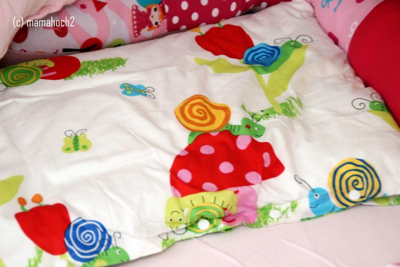 Selbstgenähte Bettwäsche ⋆ Mamahoch2 von Baby Bettwäsche Nähen Photo
