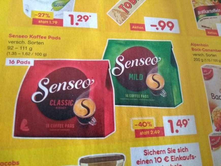 Senseo Angebote & Deals ⇒ Juli 2018  Mydealz von Senseo Pads Angebot Netto Bild