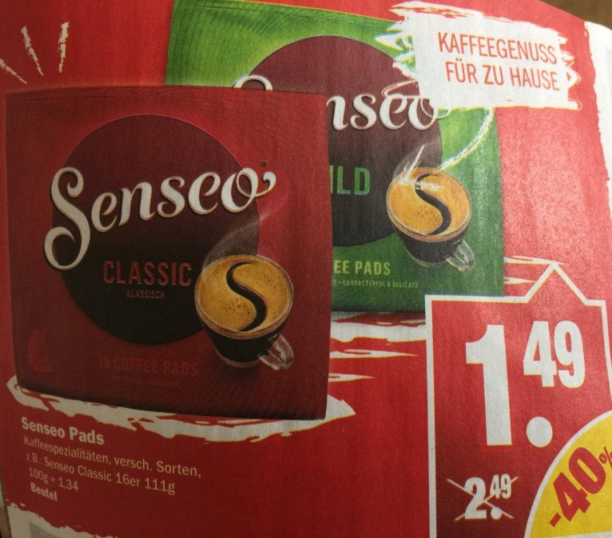 Senseo Angebote & Deals ⇒ Juli 2018  Mydealz von Senseo Pads Angebot Netto Photo