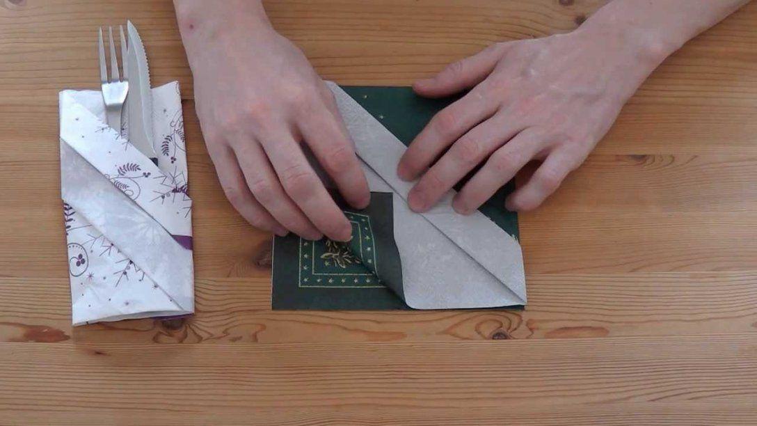Servietten Falten Taufe Erstaunlich Auf Kreative Deko Ideen Mit von Bestecktaschen Aus Servietten Falten Photo