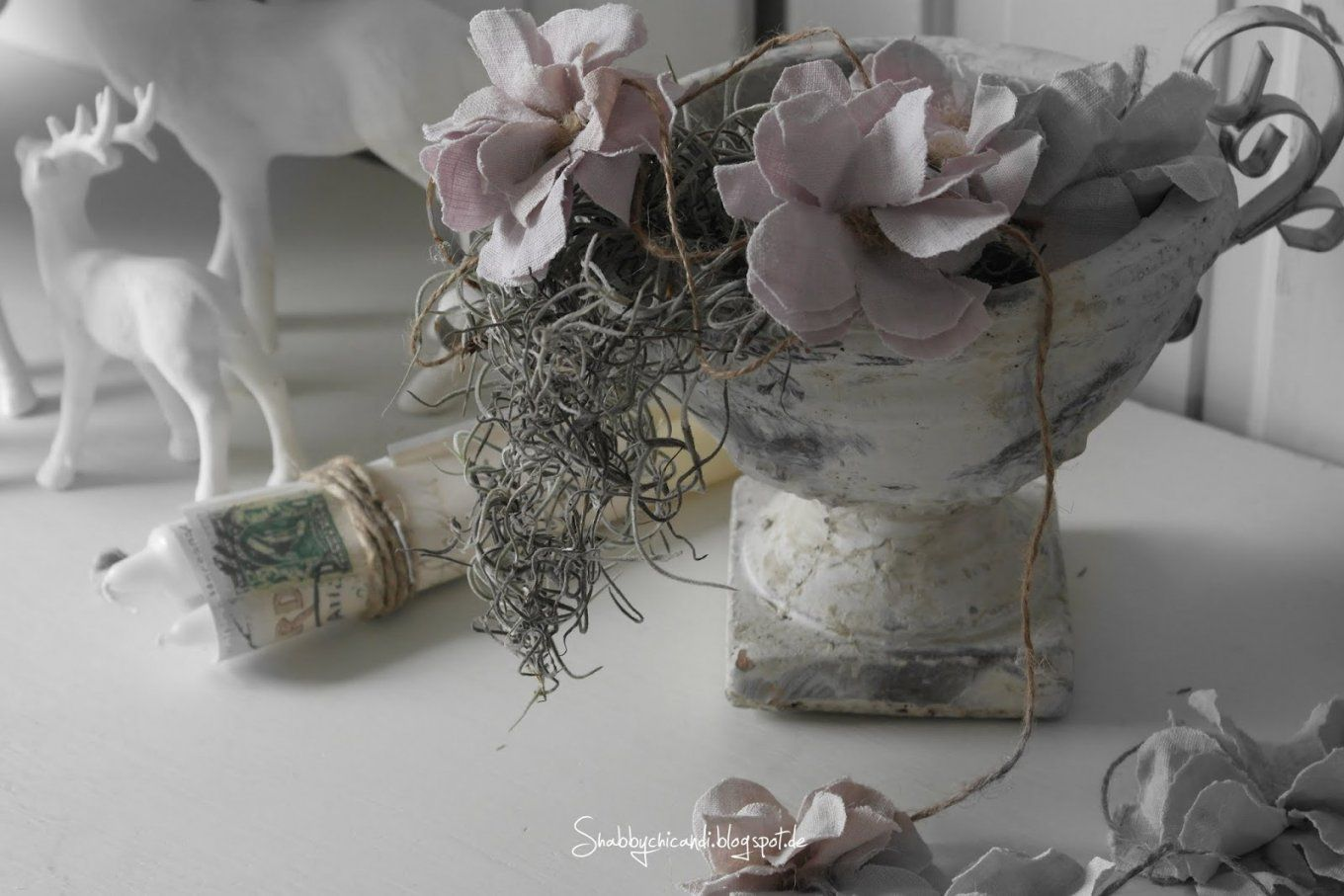 Shabby Chic And I Shabby Chic Diy Und Deko Ein Hauch Von Winter Avec von Shabby Chic Deko Ideen Photo