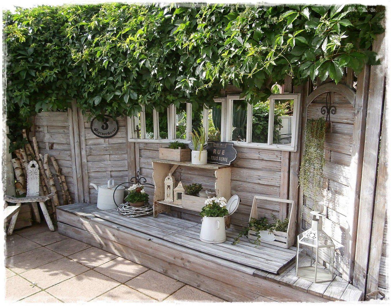Shabby Landhaus Die Vielen Gesichter Meiner Terrasse von Terrasse Im Landhausstil Gestalten Photo