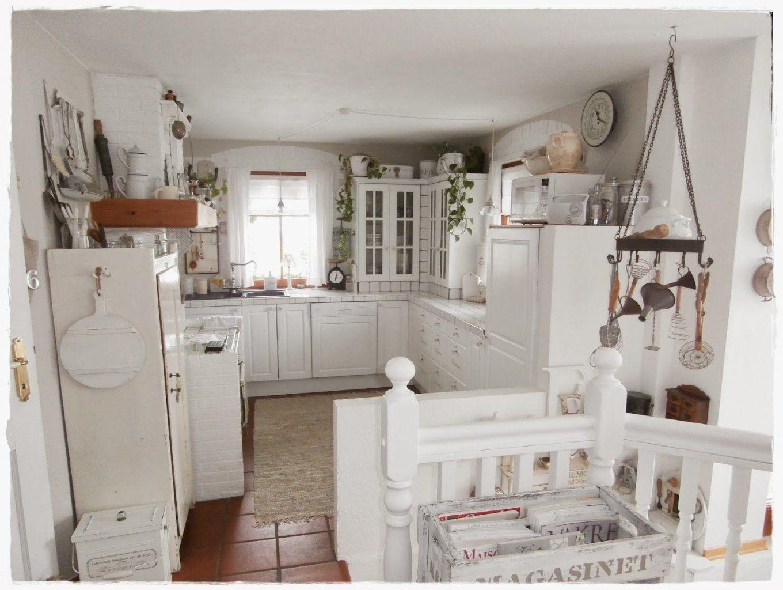 Shabby Landhaus Vorher Nachher Küche Esszimmer Avec Vintage Küche von Shabby Küche Selber Machen Bild