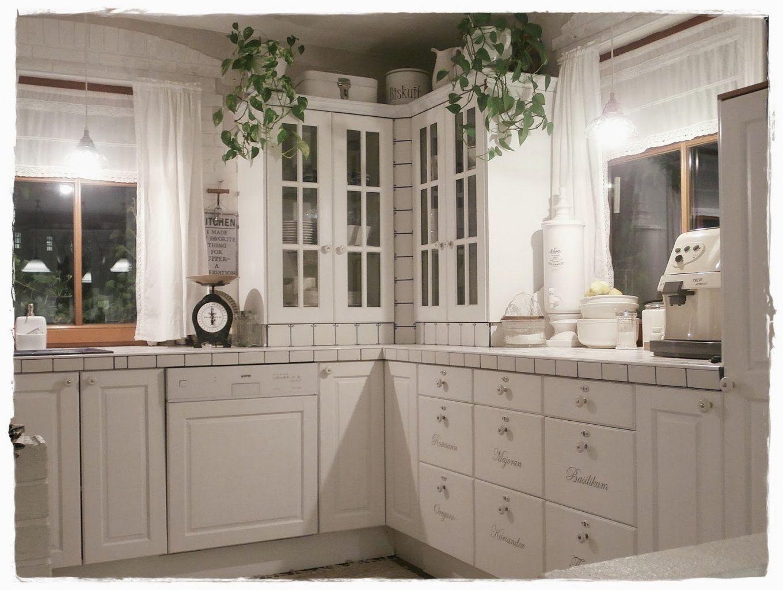 Shabby Landhaus Vorhernachherkücheesszimmer von Küche Verschönern Vorher Nachher Photo