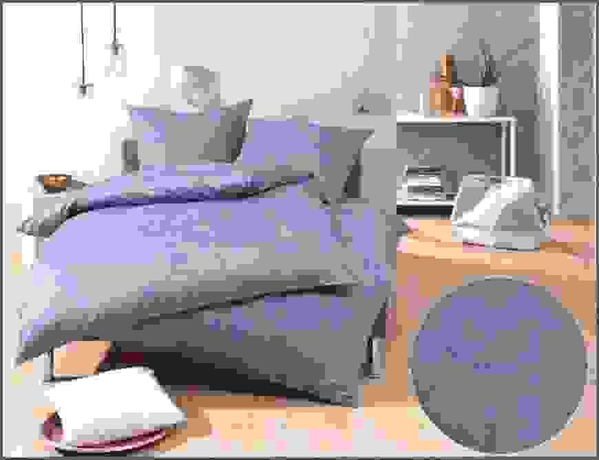 Shining Design Bettwäsche Blau Grau Mako Satin Damast Paisley Von von Seersucker Bettwäsche Tchibo Photo