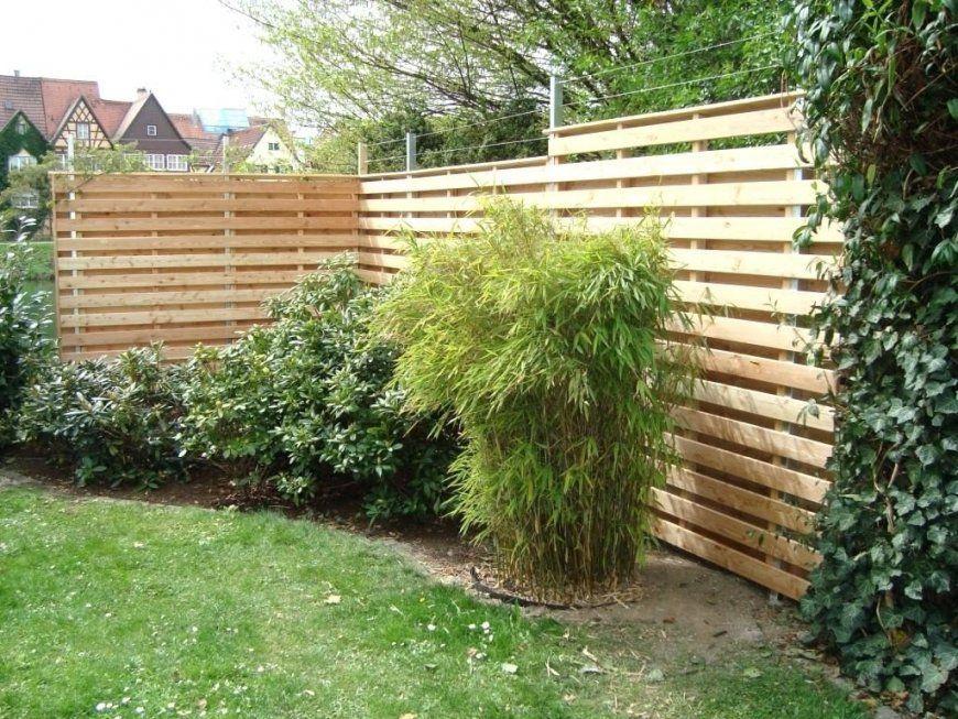 Sichtschutz Aus Beton Origineller Selber Machen Cheap Garten A von Origineller Sichtschutz Selber Machen Bild