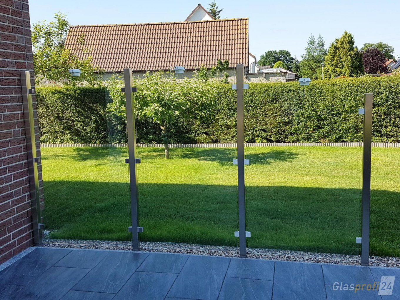Sichtschutz Aus Glas Für Den Garten  Glasprofi24 von Sichtschutz Für Duschen Im Freien Photo