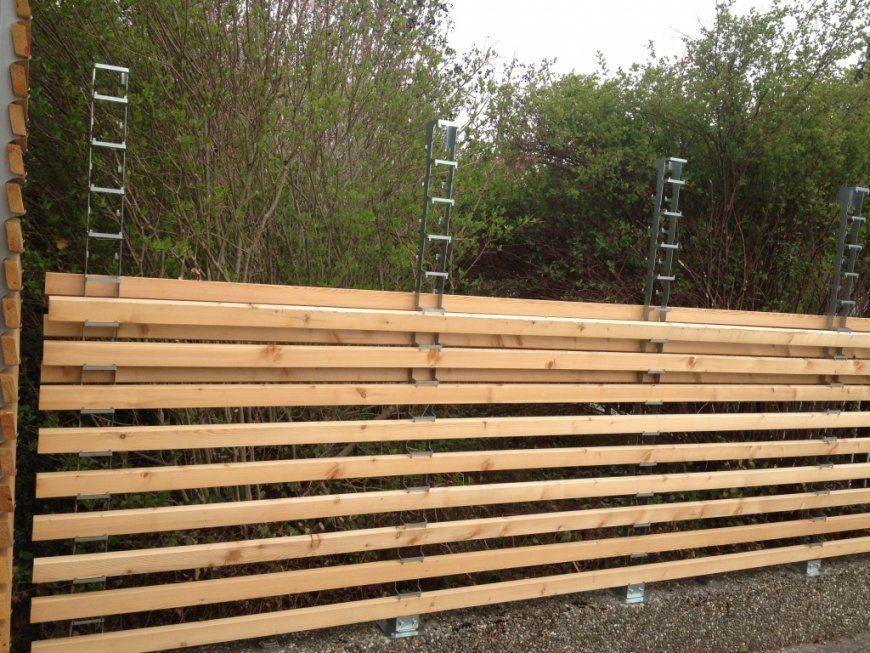 Sichtschutz Aus Holz Selber Bauen  Möbel Ideen 2018 von Sichtschutzzaun Holz Selber Bauen Bild
