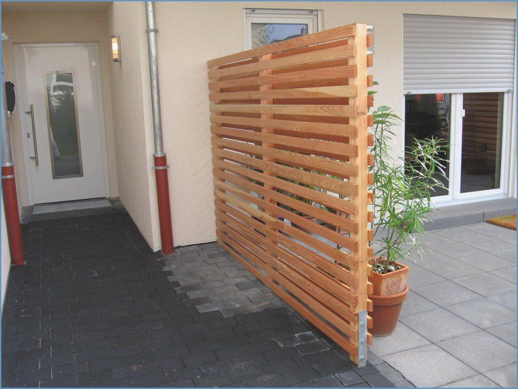 Sichtschutz Balkon Selber Terrasse Sichtschutz Selber Bauen von Sichtschutz Balkon Selber Machen Bild