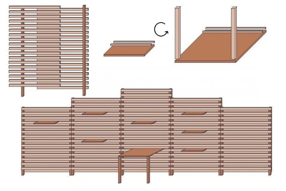 sichtschutz selber machen mit gallery of kreativer. Black Bedroom Furniture Sets. Home Design Ideas