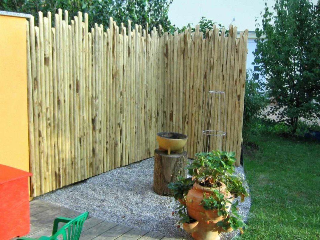 Sichtschutz Garten Bambus Neu Sichtschutz Aus Holz Gartenzaun Bauen von Weide Sichtschutz Selber Machen Bild
