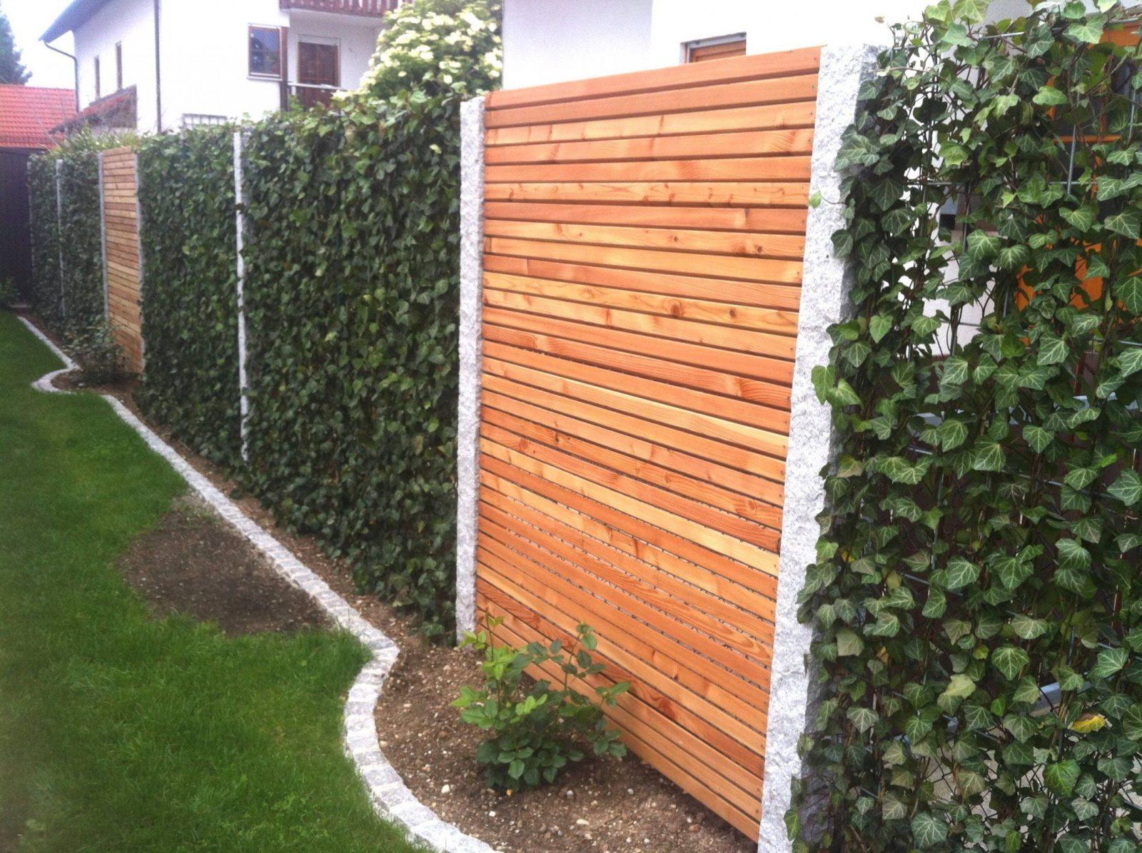 Sichtschutz Garten Holz Neu Einzigartig Kreativer Sichtschutz Selber von Kreativer Sichtschutz Selber Bauen Bild