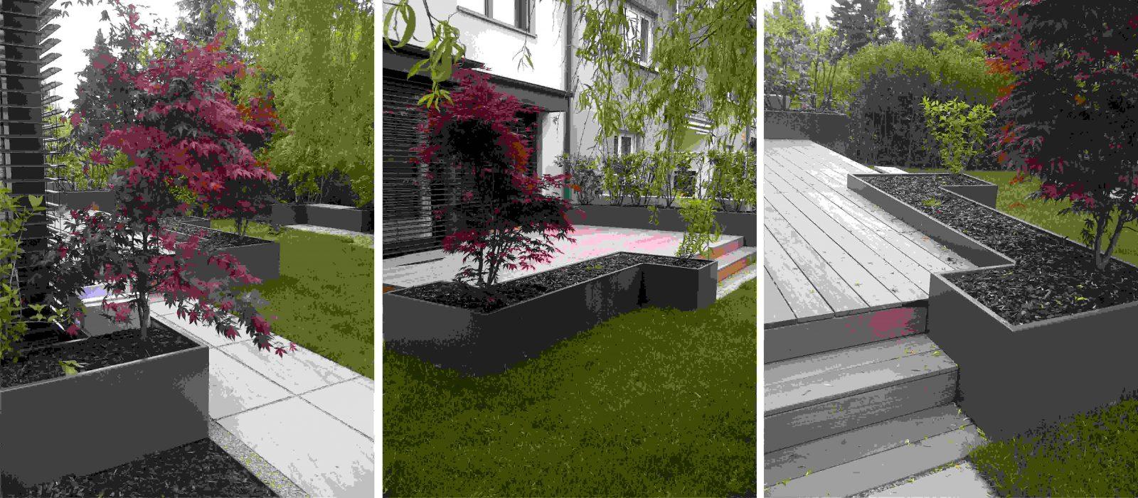 moderner sichtschutz f r garten haus design ideen. Black Bedroom Furniture Sets. Home Design Ideas