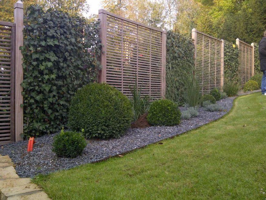 Sichtschutz Gestaltung Im Garten Schön Hecke Am Laufenden Meter Und von Hecke Am Laufenden Meter Selber Machen Bild