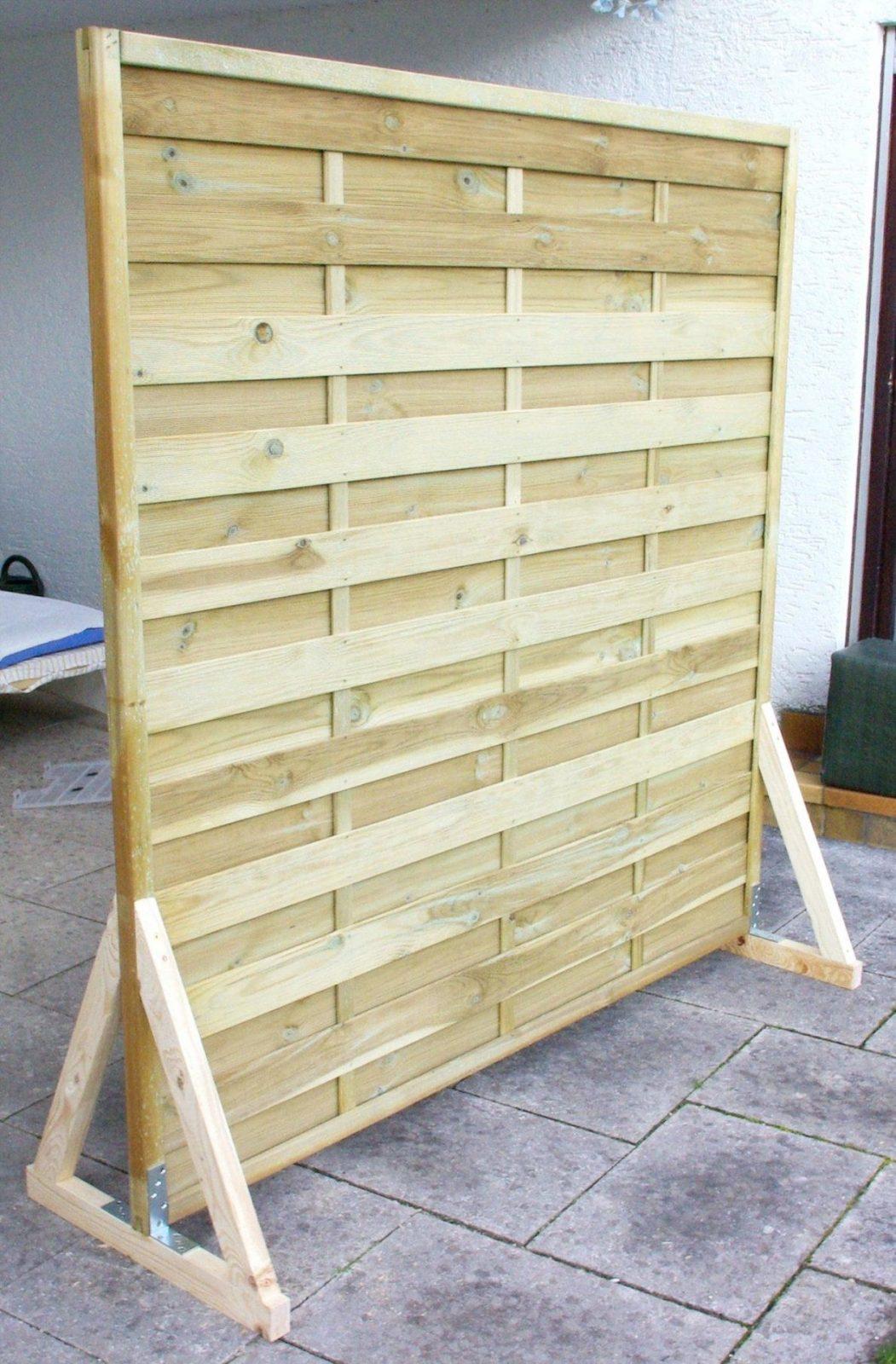 Sichtschutz Selber Machen Paravent Garten Balkon Bauen Anleitung Diy von Sichtschutz Selber Bauen Holz Photo