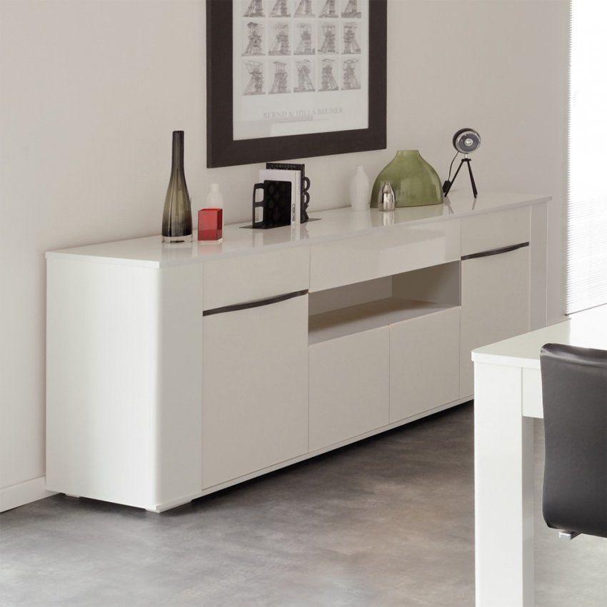 Sideboard Calocta In Weiß Hochglanz 200 Cm Breit Pharao24 von Sideboard Weiß Hochglanz 200 Cm Photo