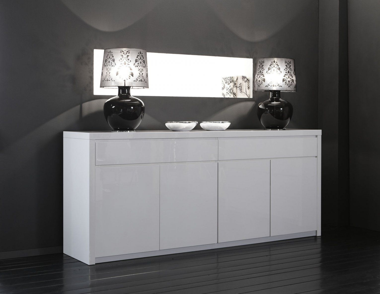 Sideboard Weiß Hochglanz 200 Cm Erstaunlich Auf Kreative Deko Ideen von Sideboard Weiß Hochglanz 200 Cm Bild