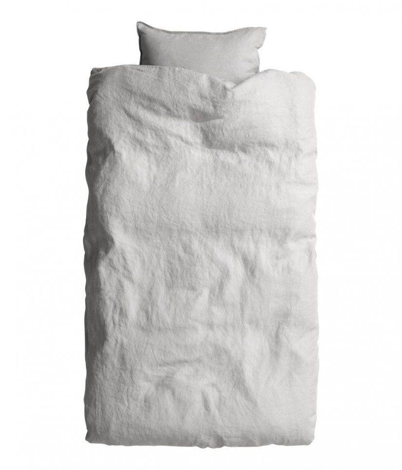Sieh's Dir An Premium Qualität Bettwäsche Aus Gewaschenem Leinen von H&m Bettwäsche 155X220 Bild