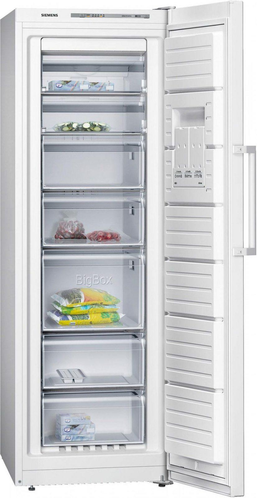 Siemens Gs33Nvw30 A++ Gefrierschrank Weiß 60 Cm Breit Nofrost von Gefrierschrank Silber 85 Cm Bild