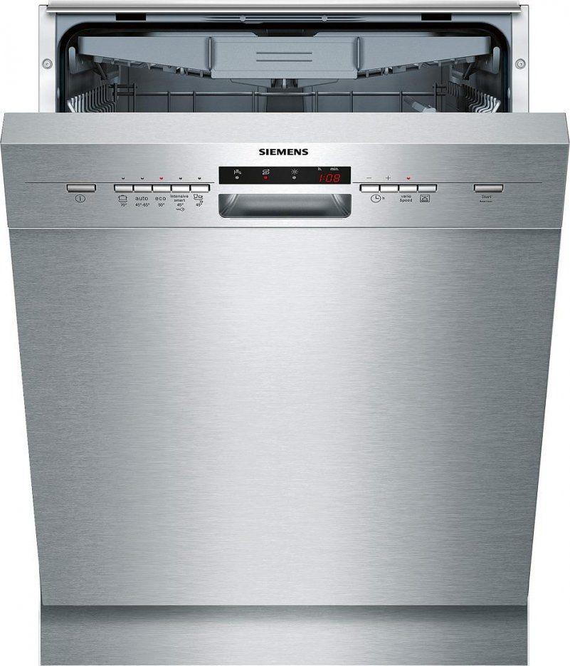 Siemens Sn45L580Eu Speedmatic A++ Unterbaugeschirrspüler 60 Cm von Backofen 50 Cm Breit Unterbau Bild