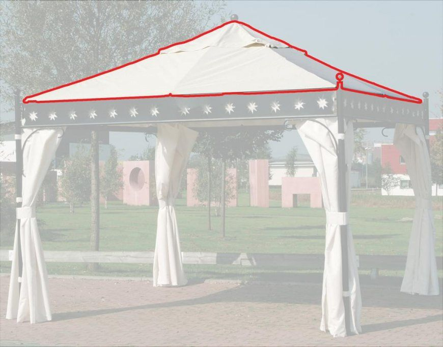 Siena Garden Ersatzdach Dach Für Pavillon Korfu  Real von Ersatzdach Für Pavillon 3X3 Photo
