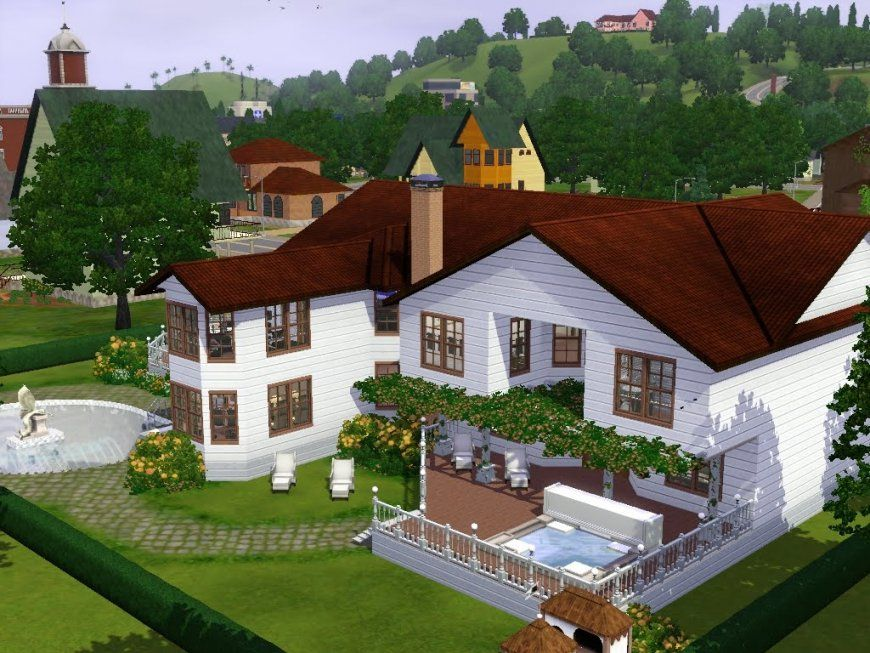 Sims 3  Haus Bauen  Let's Build  Haus Im Landhausstil  Youtube von Sims 3 Haus Bauen Schritt Für Schritt Bild